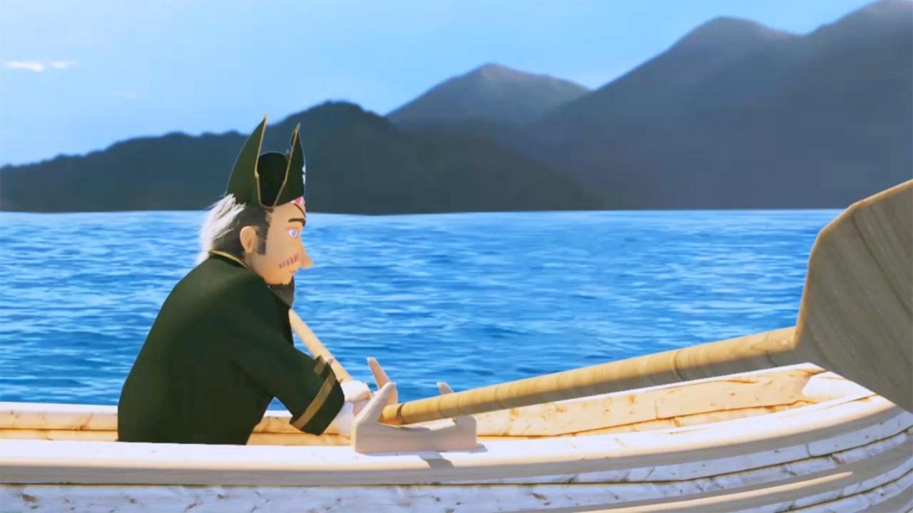 انیمیشن کاپیتان دزد دریایی