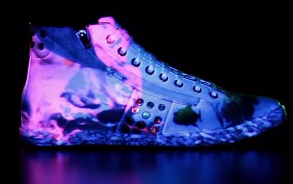اجرای تری دی مپینگ روی کفش