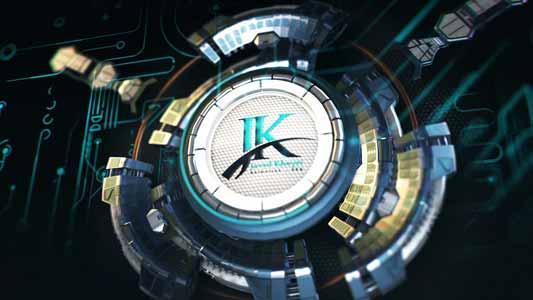 ساخت لوگو موشن - ساخت آرم استیشن - استودیو انیمیشن JK - جواد خیری
