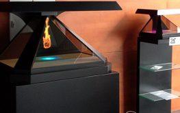 نمایشگر سه بعدی تجهیزات نمایشگاهی نمایشگر-نمایشگر سه بعدی-تکنولوژی تبلیغات