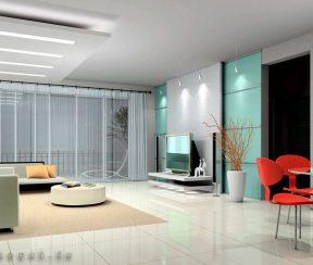 انیمیشن معماری داخلی اتاق نشیمن