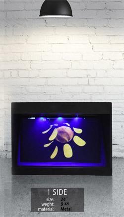 نمایشگر سه بعدی تک وجهی 24 اینچ
