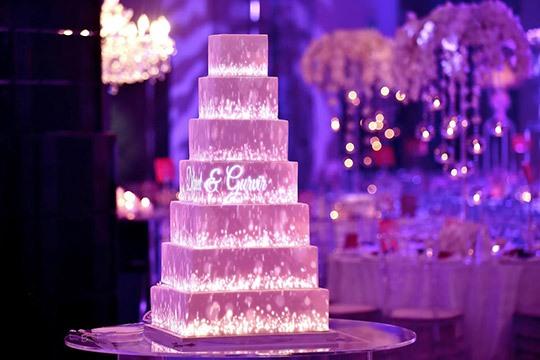 اجرای تری دی مپینگ بر روی کیک