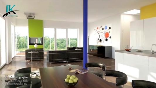 ساخت انیمیشن معماری جواد خیری- استودیو انیمیشن JK