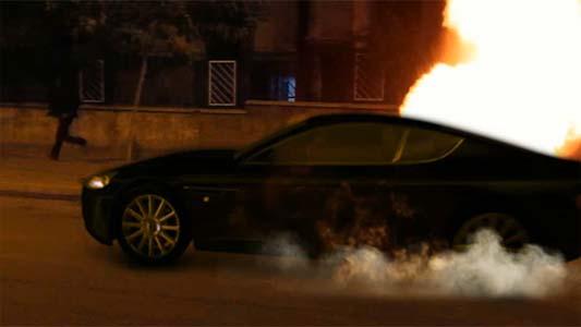 سفارش ساخت جلوه های ویژه سینمایی انفجار خودرو