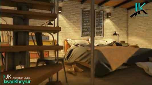 سفارش ساخت انیمیشن معماری استودیو انیمیشن JK - جواد خیری