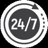 پاسخگویی 24 ساعته و در هفت روز هفته-استودیو JK - جواد خیری