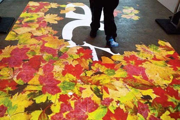 فرش هوشمند فرش تعاملی interactive floor تجهیزات نمایشگاهی